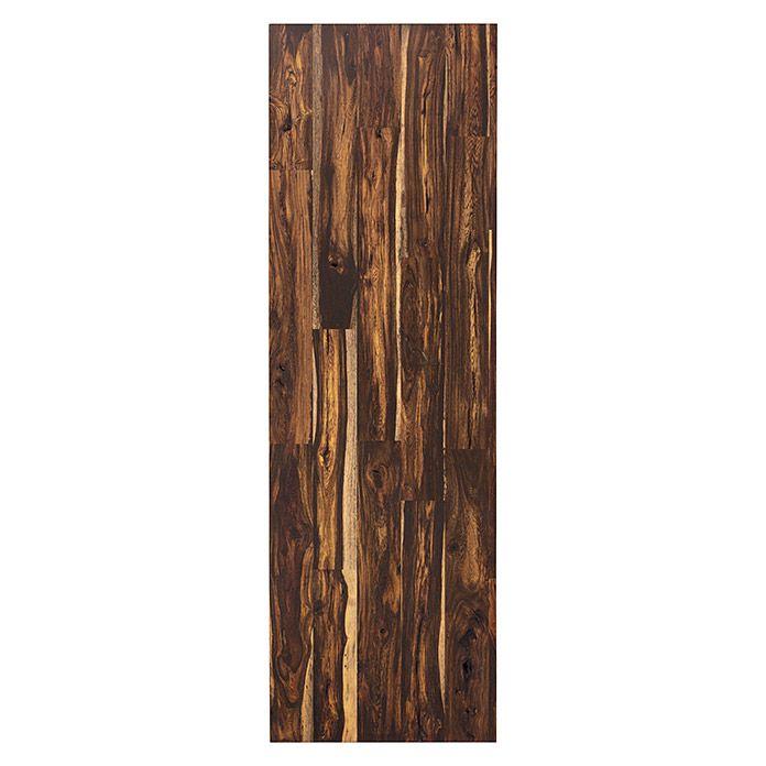 Exclusivholz Massivholzplatte Senna Natur Geolt 200 X 63 5 X 3 Cm Bauhaus Arbeitsplatte Holz