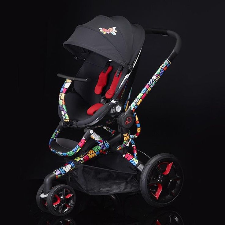 http://www.largesttoystore.com/category/quinny-moodd/ Make a bold fashion statement with the new Quinny Moodd by Romero Britto! Awesome or what??! Baby Stroller, Britto Stroller, …