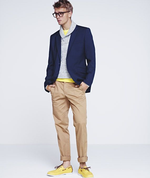 Max - H 2012Summer Fashion, Boats Shoes, Boat Shoes, Spring Summer, Spring Collection, Men Fashion, Casual Looks, H M Clothing, Bright Colors