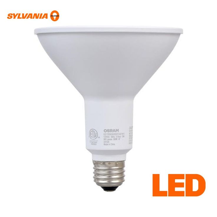 90W Equivalent Daylight PAR38 LED Outdoor Flood Light Bulb - 2 Pack