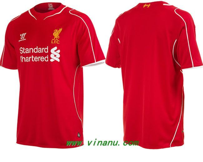 liverpool soccer jersey for the new 1415 season.