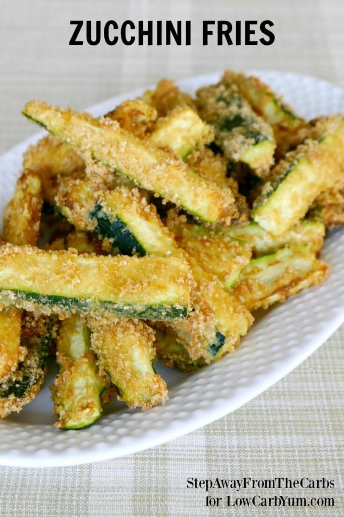 There are plenty of vegetables other than potatoes to make fries. Discover how easy it is to make your own low carb zucchini fries with this simple recipe.