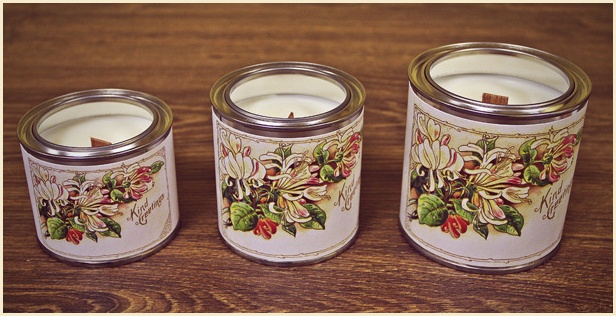 Woman day - woodwick candle manufacturer, soy candles by VINTAGE CANDELLA