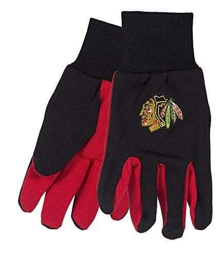 Forever Collectibles NHL Chicago Black Hawks 2015 Utility Gloves  https://allstarsportsfan.com/product/forever-collectibles-nhl-chicago-black-hawks-2015-utility-gloves/  Spice up your handy work with your favorite sports teams Durability designed for completeing all of your household and utility needs Plastic beading on palmn and fingers for extra grip