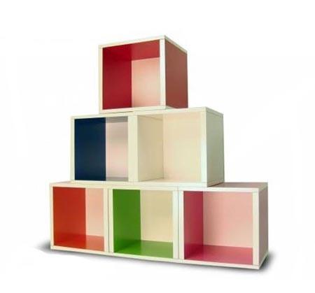 storage cubes/shelves