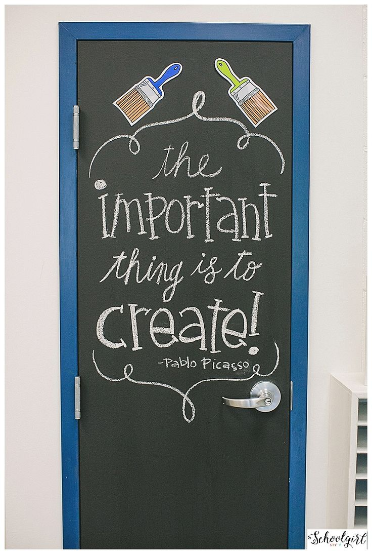 Perfect For Closet Doors In The Classroom!