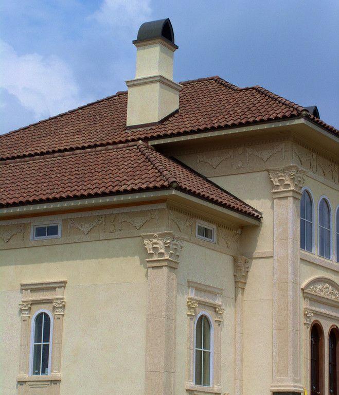 """San Marco Coppo """"S"""" Tile; Weathered """"Classico"""" Blend #terreal #sanmarco #dachówka #rooftiles #roofs #dachy #dachyrustykalne #alledachy #dachowkiwłoskie #włoskiklimat #italianstyle"""