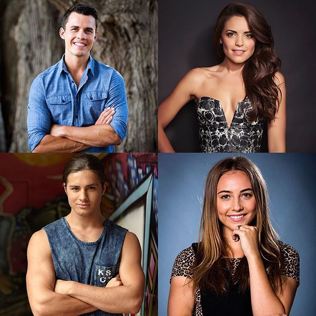 Got a question for @andrew_j_morley @olympiavalance @mrtravisburns or @mavournee_hazel We're shooting video Q&As with this bunch soon, so leave a comment! #Neighbours