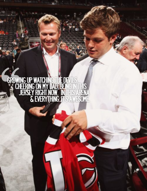 Anthony Brodeur on being drafted by the Devils at The Rock.