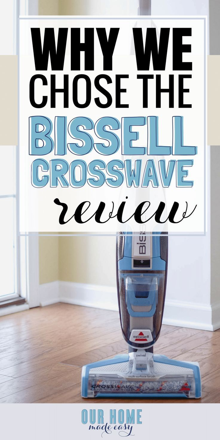 The Bis Crosswave Is Easiest Way To Keep All Floors Clean When You Are Too