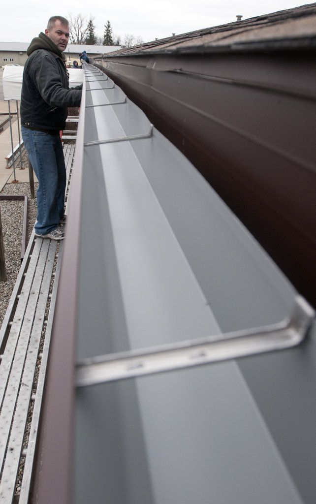 19 best advantage of seamless gutter systems images on pinterest the worlds longest seamless gutters solutioingenieria Images