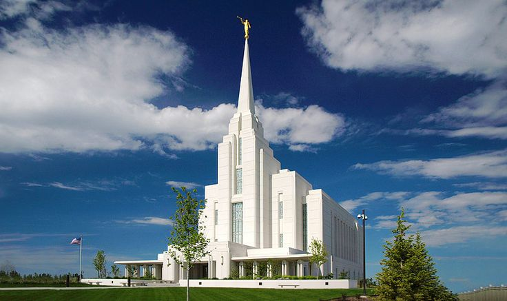 Rexburg Idaho LDS Temple.  I attended college across the street from this temple. Photographed a wedding here.  So pretty. LDS are also known as Mormons or The Church of Jesus Christ of Latter Day Saints