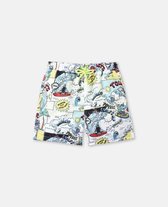 3d196343b4b0 Shop the Taylor All Over Print Swim Shorts by Stella Mccartney Kids ...