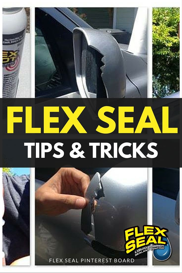 Flex Seal Directions So Easy To Use Read Entire Can And