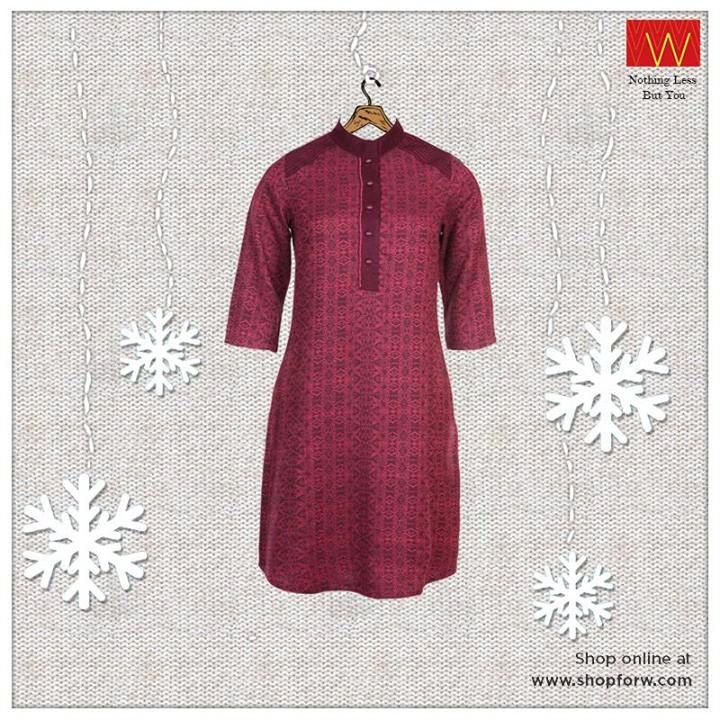 #Fresh hue of dewy #purple which is innocent and sassy at the same time. Do you agree? http://www.shopforw.com/categoryProducts.php?catID=184&maincatName=Winter&smallCat=Winter%20Kurta #Wwear