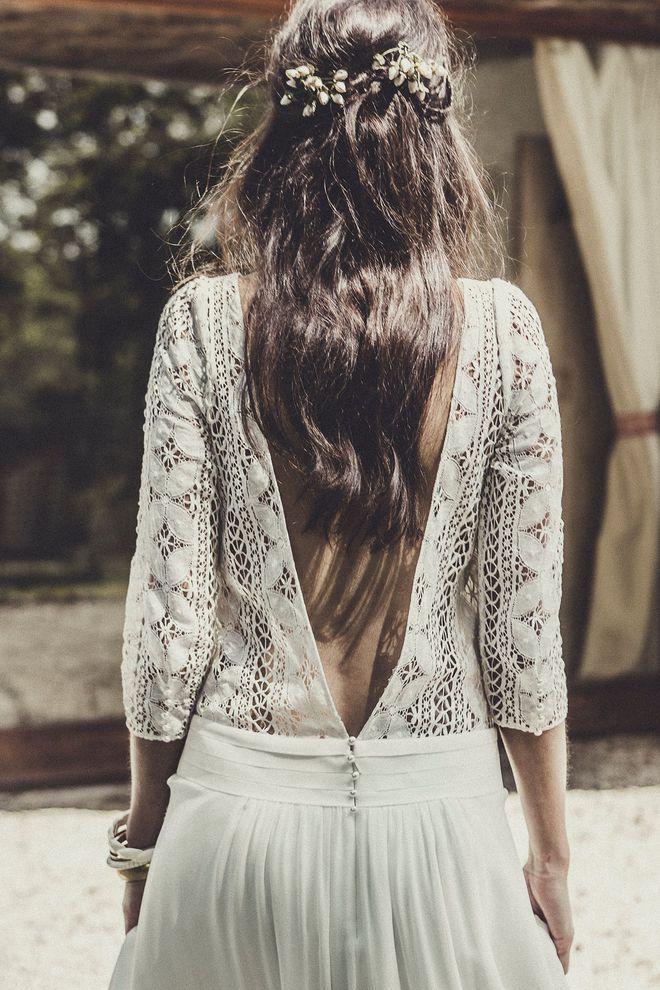 "Robe de mariée ""Palma"", Laure de Sagazan"