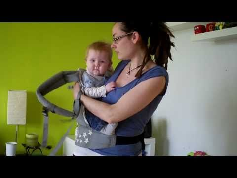 Back carry with the Ergo carrier. Need to practice this!
