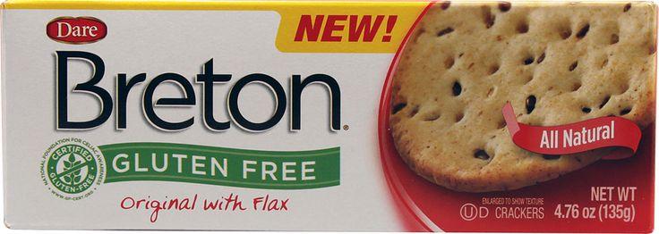 Dare Breton® Crackers with Flax Original