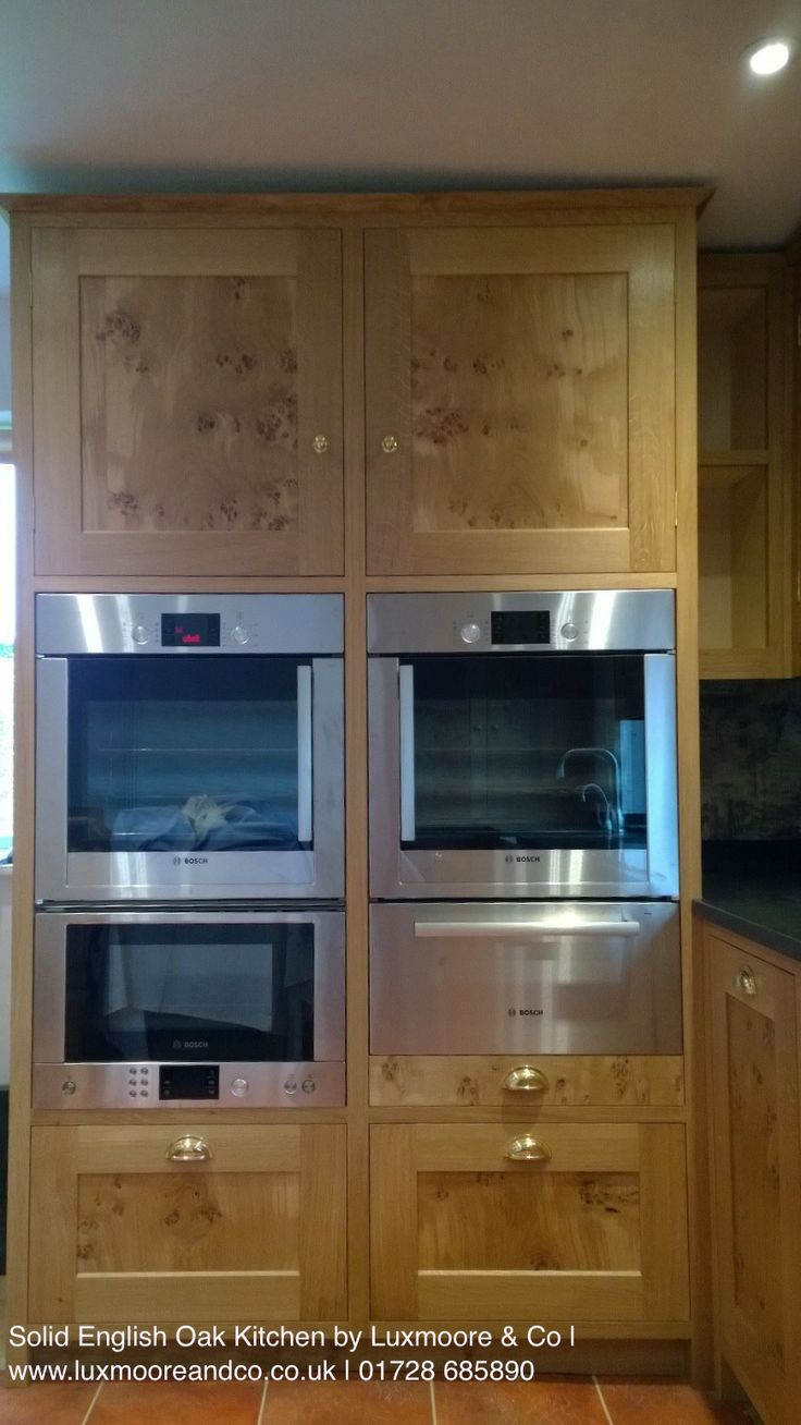 1000 ideas about integrated oven on pinterest howdens for Eye level oven kitchen designs