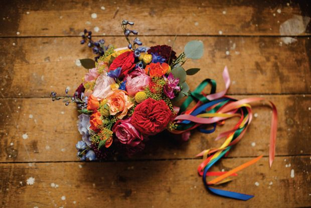 Colourful Killyon Manor wedding by The Lous   www.onefabday.com
