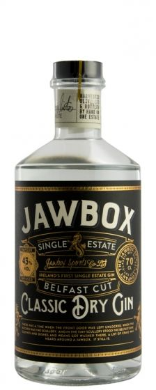 Jawbox Classic Dry Gin Belfast Cut