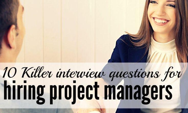 project management interview questions pdf
