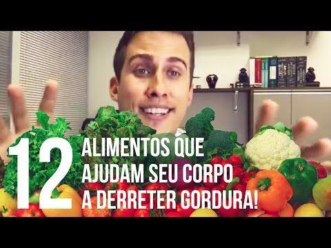 Quais São os 12 Alimentos que Ajudam Seu Corpo a Derreter Gordura? - YouTube