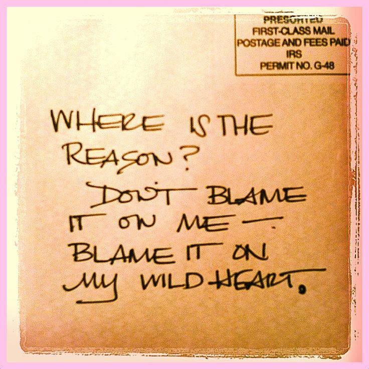 Dear You....