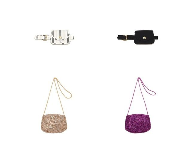 おすすめ!人気ファッション雑誌掲載アイテム  Lily Brown/リリーブラウンのラメテープミニポーチ&2wayウエストポーチのファッション通販