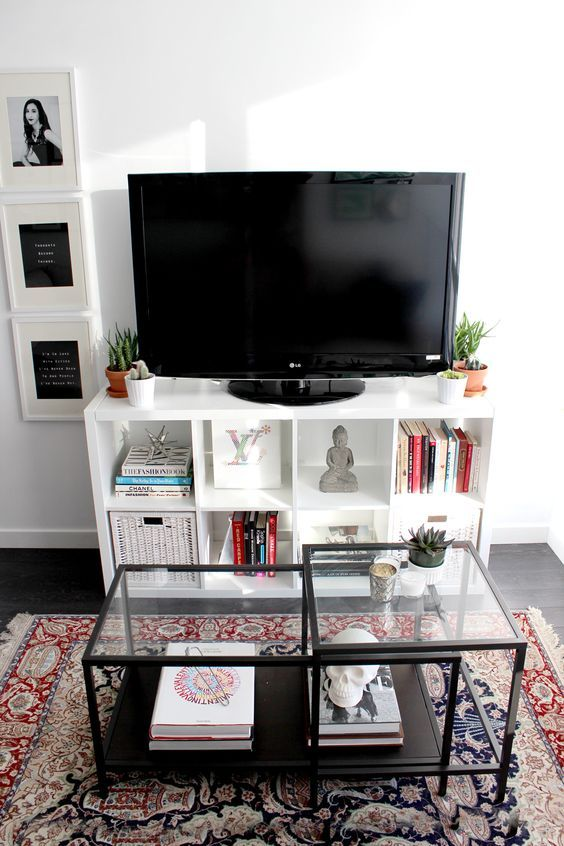 ikea kallax living room - Google Search: