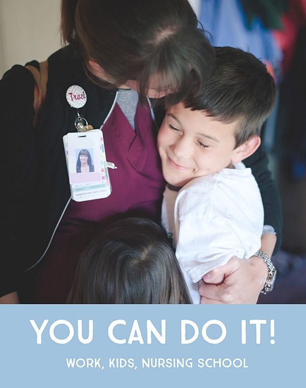 nursing school with kids tips