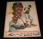 "1983 California Angels Baseball Schedule Poster 17x22"" #D5978 - http://oddauctions.net/sports-memorabilia/1983-california-angels-baseball-schedule-poster-17x22-d5978/"
