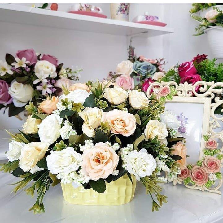 New The 10 Best Home Decor With Pictures Bismillah Bunga Meja Vas Kramik Tinggi 20 Lebar 30 Order Wa 082 Decor Interior Design Home Decor Floral Wreath