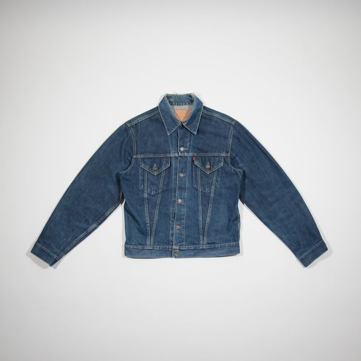 ✦ CLICK TO BUY ✦ LEVI'S BIG E - Denim Jacket 60s/70s - Giacca di jeans anni '60 - Millesimè Vintage clothing & accessories