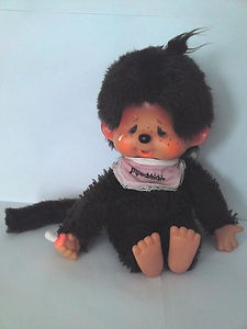 1970s Monchichi Chic a Boo doll. I never did get one :,( OMG, MY DAUGHTER HAD ONE OF THESE WHEN SHE WAS A TOT, IT SUCKED ITS THUMB.