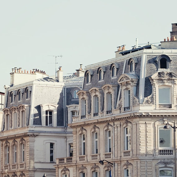 French apartments in Paris . My dream :*