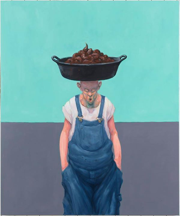 Michael Kvium - Installation View Nils Staerk Gallery 2014