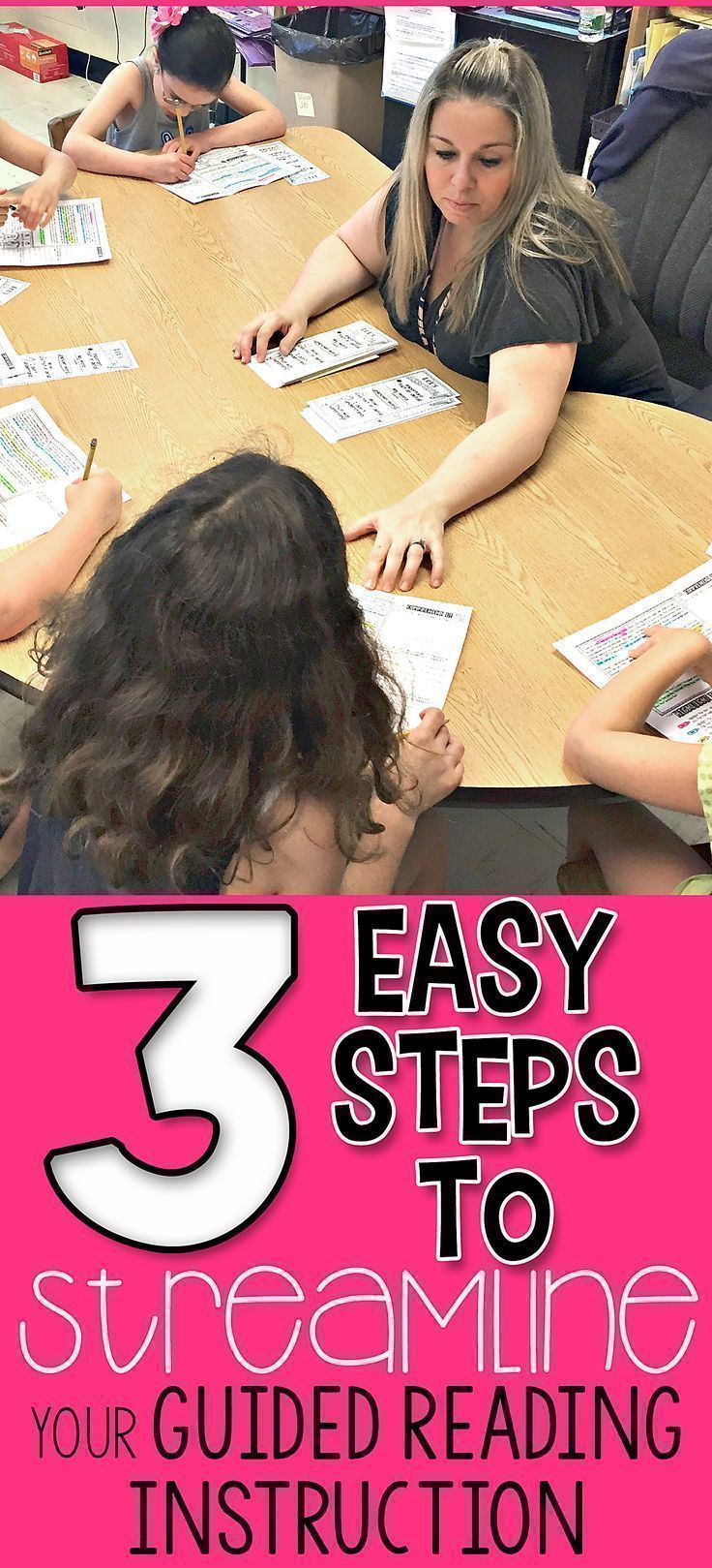 3 Easy Steps to STREAMLINE Your Guided Reading Instruction - Simply Skilled Teaching