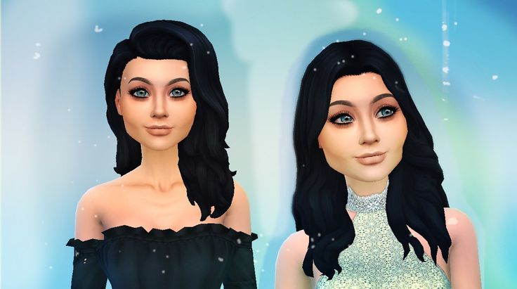 Inna and Yana sims
