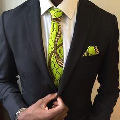 www.cewax.fr aime *** cravate wax vert ***