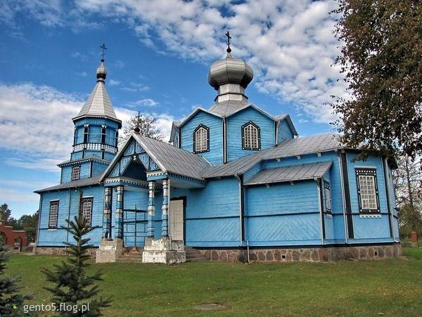 Cerkiew (Orthodox Church) in Pasynki (Podlasie, Poland)