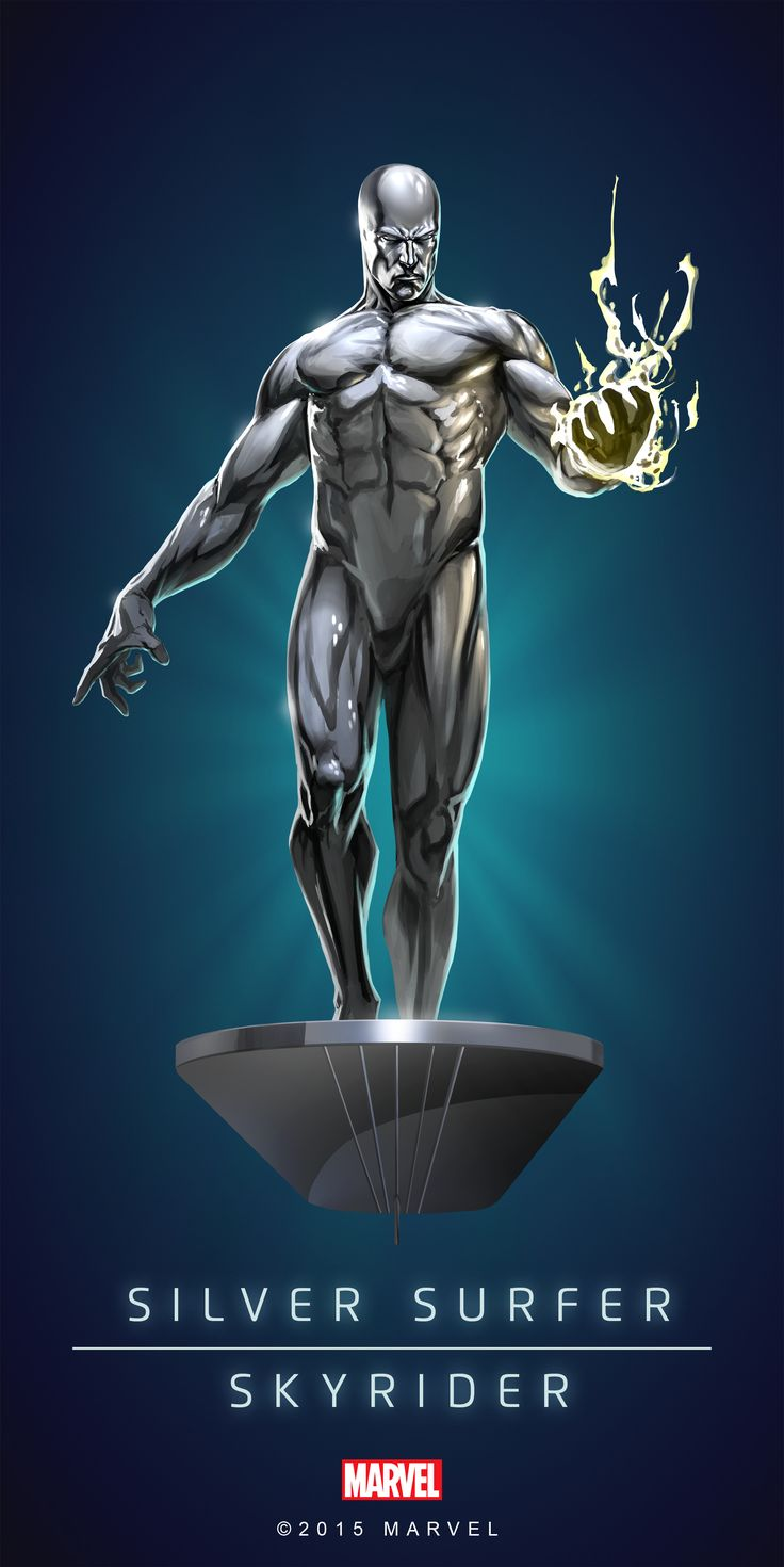 Silver Surfer - There's just 'something Mmmmm' about him, is it because he's, almost naked....3:) ??