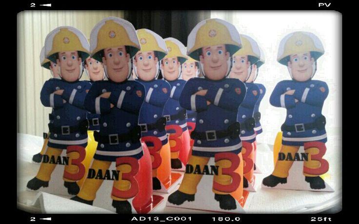 Brandweerman Sam danootje traktatie