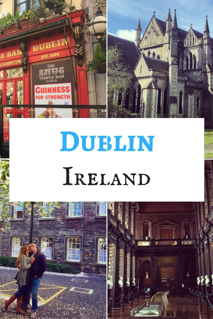Dublin is the capital city of Ireland. Most of the popular tourist sites are located in South Dublin, south of the Liffey River.