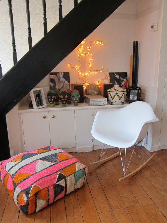 stool by bazaarliving on etsyhouse design kilim poufs living room