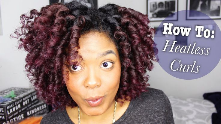 How To: Heatless Curls on Natural Hair
