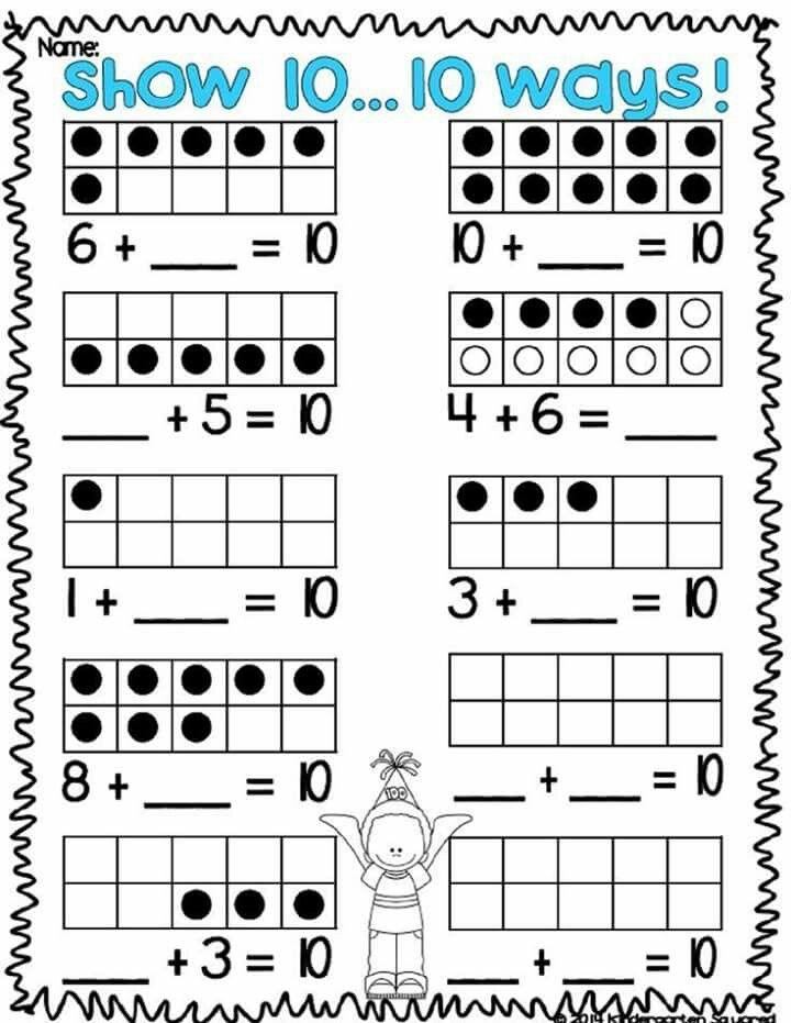 32 best Kindergarten work sheets images on Pinterest