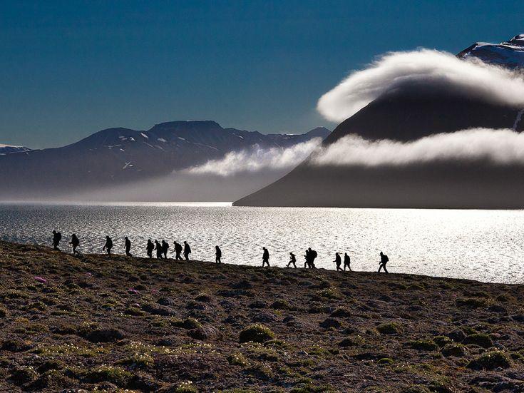 ツンドラ・トレッキング、スバールバル諸島 トレッキングの参考まとめです。