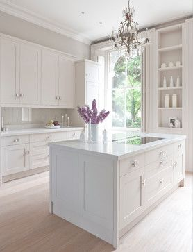 misty Carrera caesarstone - Grace - Traditional - Kitchen - London - Mowlem  Co