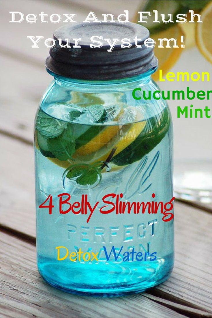Health And Fitness: 4 Homemade Detox Water Recipes To Lose Weight